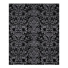 Damask2 Black Marble & Gray Colored Pencil Shower Curtain 60  X 72  (medium)  by trendistuff