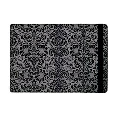 Damask2 Black Marble & Gray Colored Pencil (r) Ipad Mini 2 Flip Cases by trendistuff