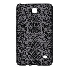 Damask2 Black Marble & Gray Colored Pencil (r) Samsung Galaxy Tab 4 (8 ) Hardshell Case  by trendistuff