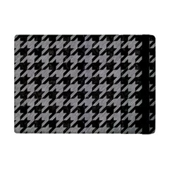 Houndstooth1 Black Marble & Gray Colored Pencil Ipad Mini 2 Flip Cases by trendistuff