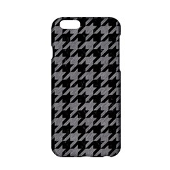 Houndstooth1 Black Marble & Gray Colored Pencil Apple Iphone 6/6s Hardshell Case by trendistuff