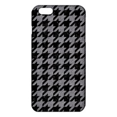 Houndstooth1 Black Marble & Gray Colored Pencil Iphone 6 Plus/6s Plus Tpu Case by trendistuff
