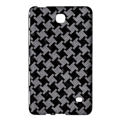 Houndstooth2 Black Marble & Gray Colored Pencil Samsung Galaxy Tab 4 (8 ) Hardshell Case  by trendistuff