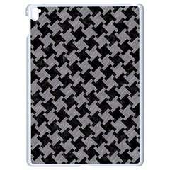 Houndstooth2 Black Marble & Gray Colored Pencil Apple Ipad Pro 9 7   White Seamless Case by trendistuff