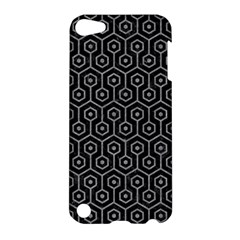 Hexagon1 Black Marble & Gray Colored Pencil Apple Ipod Touch 5 Hardshell Case by trendistuff