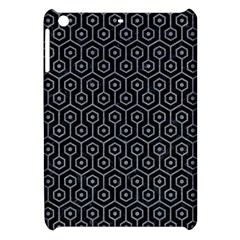 Hexagon1 Black Marble & Gray Colored Pencil Apple Ipad Mini Hardshell Case by trendistuff