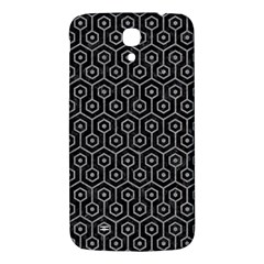 Hexagon1 Black Marble & Gray Colored Pencil Samsung Galaxy Mega I9200 Hardshell Back Case by trendistuff