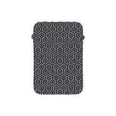 Hexagon1 Black Marble & Gray Colored Pencil (r) Apple Ipad Mini Protective Soft Cases by trendistuff