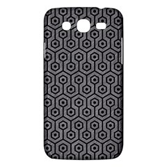 Hexagon1 Black Marble & Gray Colored Pencil (r) Samsung Galaxy Mega 5 8 I9152 Hardshell Case  by trendistuff