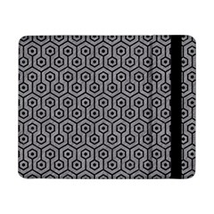 Hexagon1 Black Marble & Gray Colored Pencil (r) Samsung Galaxy Tab Pro 8 4  Flip Case by trendistuff