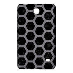 Hexagon2 Black Marble & Gray Colored Pencil Samsung Galaxy Tab 4 (8 ) Hardshell Case  by trendistuff