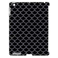 Scales1 Black Marble & Gray Colored Pencil Apple Ipad 3/4 Hardshell Case (compatible With Smart Cover) by trendistuff