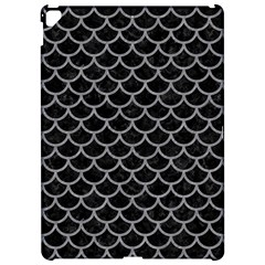 Scales1 Black Marble & Gray Colored Pencil Apple Ipad Pro 12 9   Hardshell Case by trendistuff