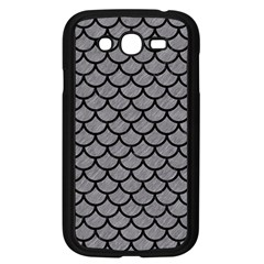 Scales1 Black Marble & Gray Colored Pencil (r) Samsung Galaxy Grand Duos I9082 Case (black) by trendistuff