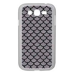 Scales1 Black Marble & Gray Colored Pencil (r) Samsung Galaxy Grand Duos I9082 Case (white) by trendistuff