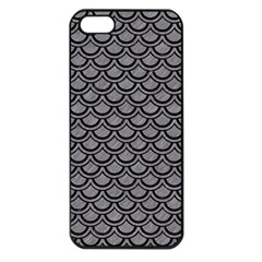 Scales2 Black Marble & Gray Colored Pencil (r) Apple Iphone 5 Seamless Case (black) by trendistuff