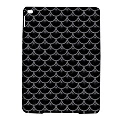 Scales3 Black Marble & Gray Colored Pencil Ipad Air 2 Hardshell Cases by trendistuff