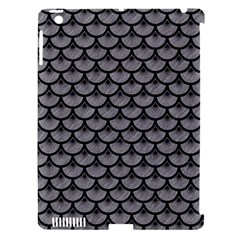 Scales3 Black Marble & Gray Colored Pencil (r) Apple Ipad 3/4 Hardshell Case (compatible With Smart Cover) by trendistuff