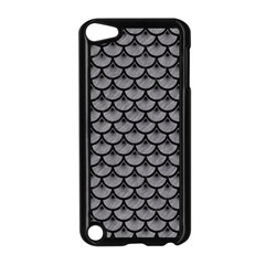 Scales3 Black Marble & Gray Colored Pencil (r) Apple Ipod Touch 5 Case (black)