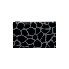 Skin1 Black Marble & Gray Colored Pencil (r) Cosmetic Bag (small)  by trendistuff