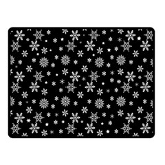Xmas Pattern Fleece Blanket (small)