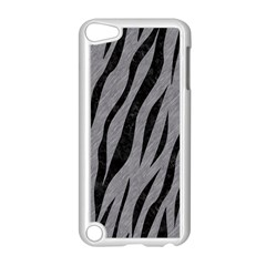 Skin3 Black Marble & Gray Colored Pencil (r) Apple Ipod Touch 5 Case (white) by trendistuff