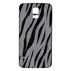 Skin3 Black Marble & Gray Colored Pencil (r) Samsung Galaxy S5 Back Case (white) by trendistuff