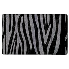 Skin4 Black Marble & Gray Colored Pencil (r) Apple Ipad 2 Flip Case by trendistuff