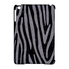 Skin4 Black Marble & Gray Colored Pencil (r) Apple Ipad Mini Hardshell Case (compatible With Smart Cover) by trendistuff
