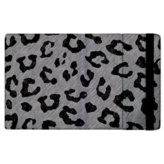 Skin5 Black Marble & Gray Colored Pencil Apple Ipad 3/4 Flip Case by trendistuff