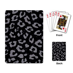 Skin5 Black Marble & Gray Colored Pencil (r) Playing Card by trendistuff