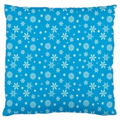 Xmas Pattern Large Flano Cushion Case (one Side) by Valentinaart