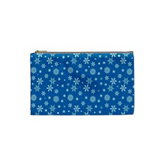 Xmas Pattern Cosmetic Bag (small)  by Valentinaart