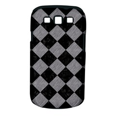 Square2 Black Marble & Gray Colored Pencil Samsung Galaxy S Iii Classic Hardshell Case (pc+silicone) by trendistuff