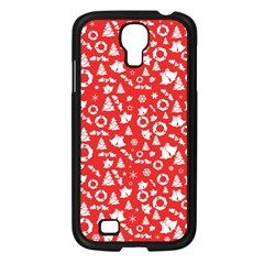 Xmas Pattern Samsung Galaxy S4 I9500/ I9505 Case (black)