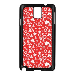 Xmas Pattern Samsung Galaxy Note 3 N9005 Case (black)
