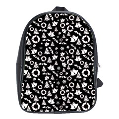 Xmas Pattern School Bag (xl)