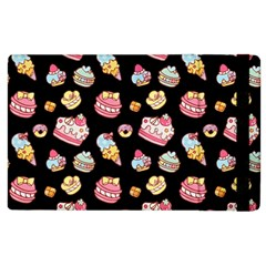 Sweet Pattern Apple Ipad 2 Flip Case by Valentinaart