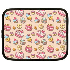 Sweet Pattern Netbook Case (xl)  by Valentinaart