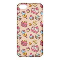 Sweet Pattern Apple Iphone 5c Hardshell Case by Valentinaart