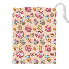 Sweet Pattern Drawstring Pouches (xxl)