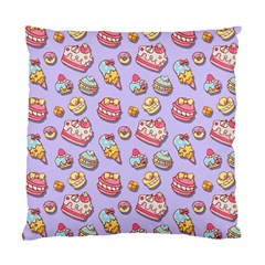 Sweet Pattern Standard Cushion Case (two Sides) by Valentinaart