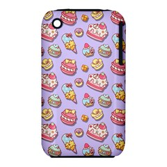 Sweet Pattern Iphone 3s/3gs by Valentinaart