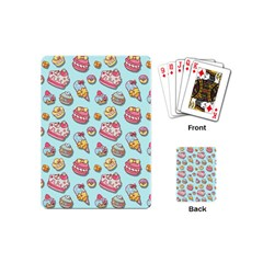 Sweet Pattern Playing Cards (mini)  by Valentinaart