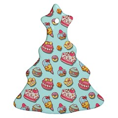 Sweet Pattern Ornament (christmas Tree)