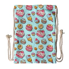Sweet Pattern Drawstring Bag (large)