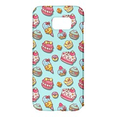 Sweet Pattern Samsung Galaxy S7 Edge Hardshell Case by Valentinaart