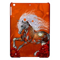 Steampunk, Wonderful Wild Steampunk Horse Ipad Air Hardshell Cases by FantasyWorld7