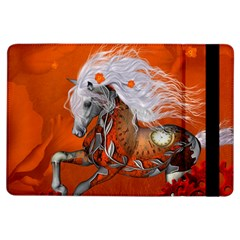 Steampunk, Wonderful Wild Steampunk Horse Ipad Air Flip by FantasyWorld7