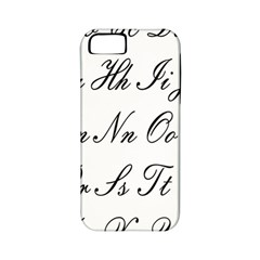Alphabet Embassy Font Apple Iphone 5 Classic Hardshell Case (pc+silicone) by Mariart